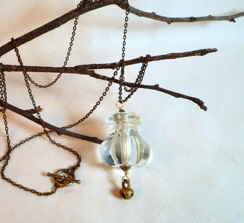 Vintage Pendulum Necklace
