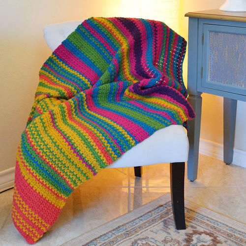 Must-Make Crochet Temperature Afghan