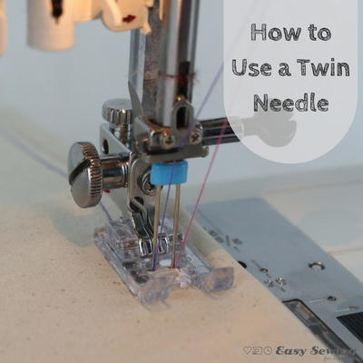 How To Use A Twin Needle On Your Sewing Machine AllFreeSewing Enchanting How To Use Your Sewing Machine