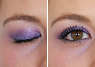 Fun Ombre Eye Shadow Look