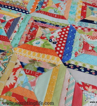 Classic String Quilt Block Tutorial