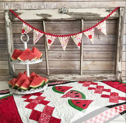 Watermelon Whimsy Table Runner Pattern