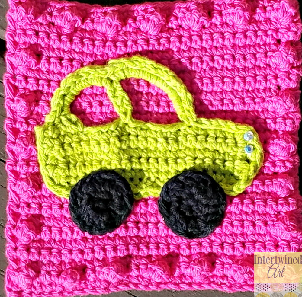 Car Applique | AllFreeCrochet.com
