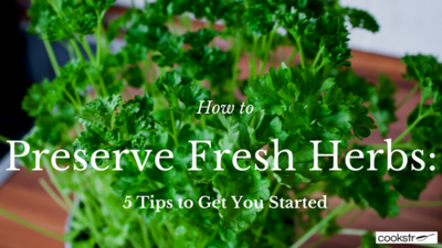 How to Preserve Fresh Herbs 5 Tips to Get You Started