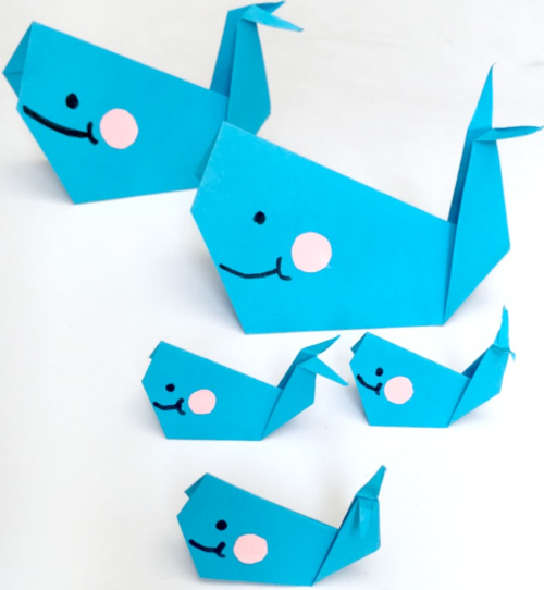 Easy Origami Whale for Beginners