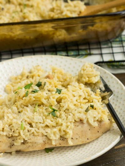 Lazy Chicken and Rice Casserole Recipe