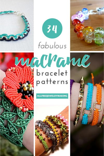 34 fabulous macrame bracelet patterns allfreejewelrymaking 34 fabulous macrame bracelet patterns fandeluxe Images