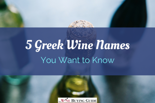 Greek wine names
