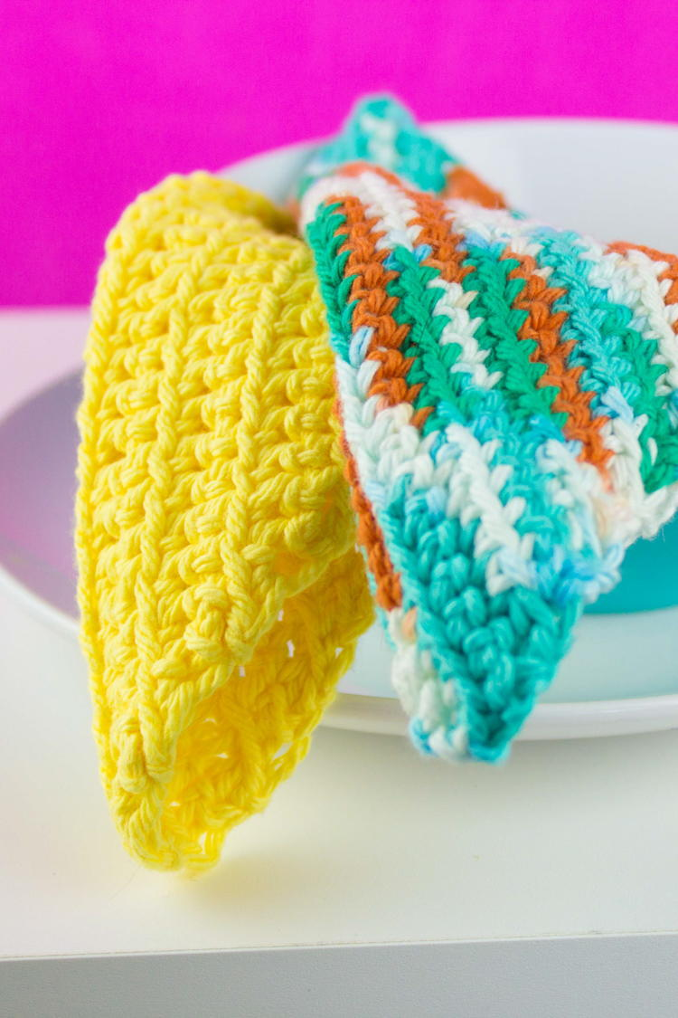 18 Free Crochet Dishcloth Patterns for Beginners | FaveCrafts.com