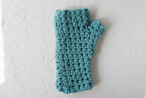 How To Separate Thumb Stitches For Crochet Mittens Allfreecrochet