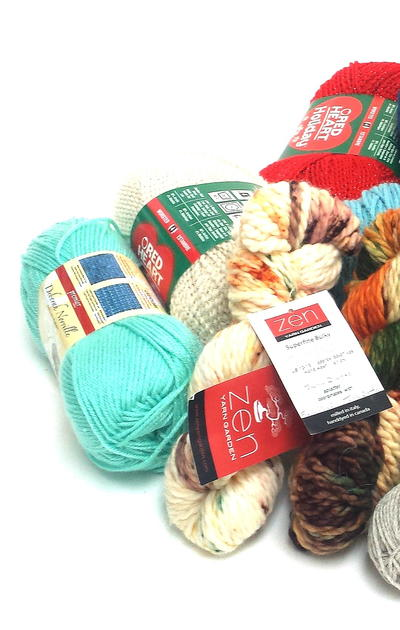 Types of Yarn for Knitting or Crochet