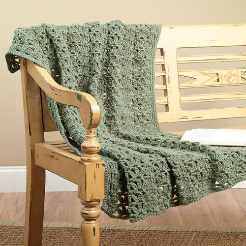 Crochet One to Two Skein Throw