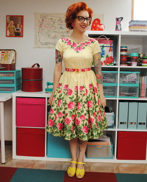 1950s Birthday Party Dress