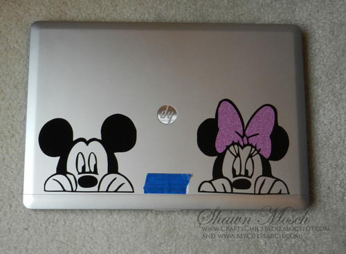Vinyl Laptop Decals