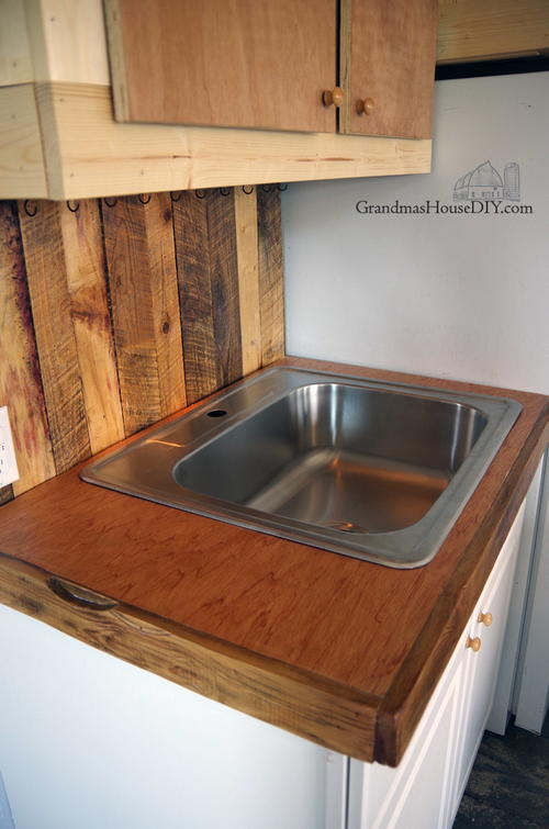 Mahogany DIY Countertops