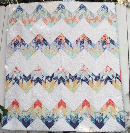 Misty Mountain Quilt Pattern | FaveQuilts.com : mountain quilts - Adamdwight.com