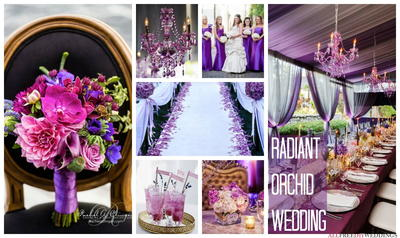 Pantone Color of the Year: 10 Radiant Orchid Wedding Color Schemes