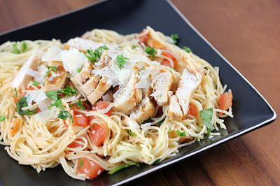 TGI Fridays Bruschetta Chicken Pasta Recipe