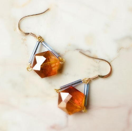 Easy and Gorgeous Geometric Earrings