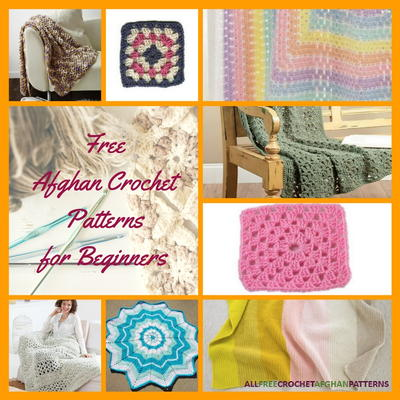 25 Free Crochet Afghan Patterns For Beginners