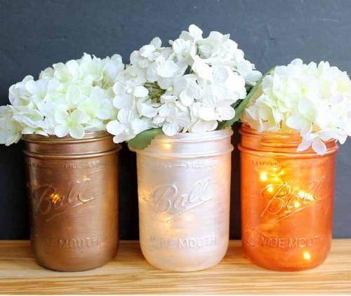 diy mason jar centerpieces - Diy Mason Jar