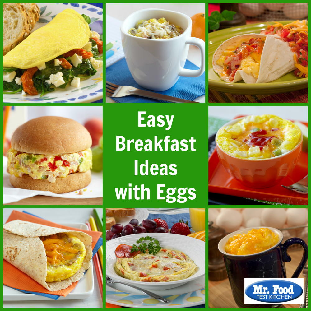 Easy Breakfast Ideas With Eggs