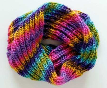 Brioche Knitting Tutorial and Cowl Pattern | AllFreeKnitting.com