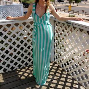 DIY Beach Maxi Dress