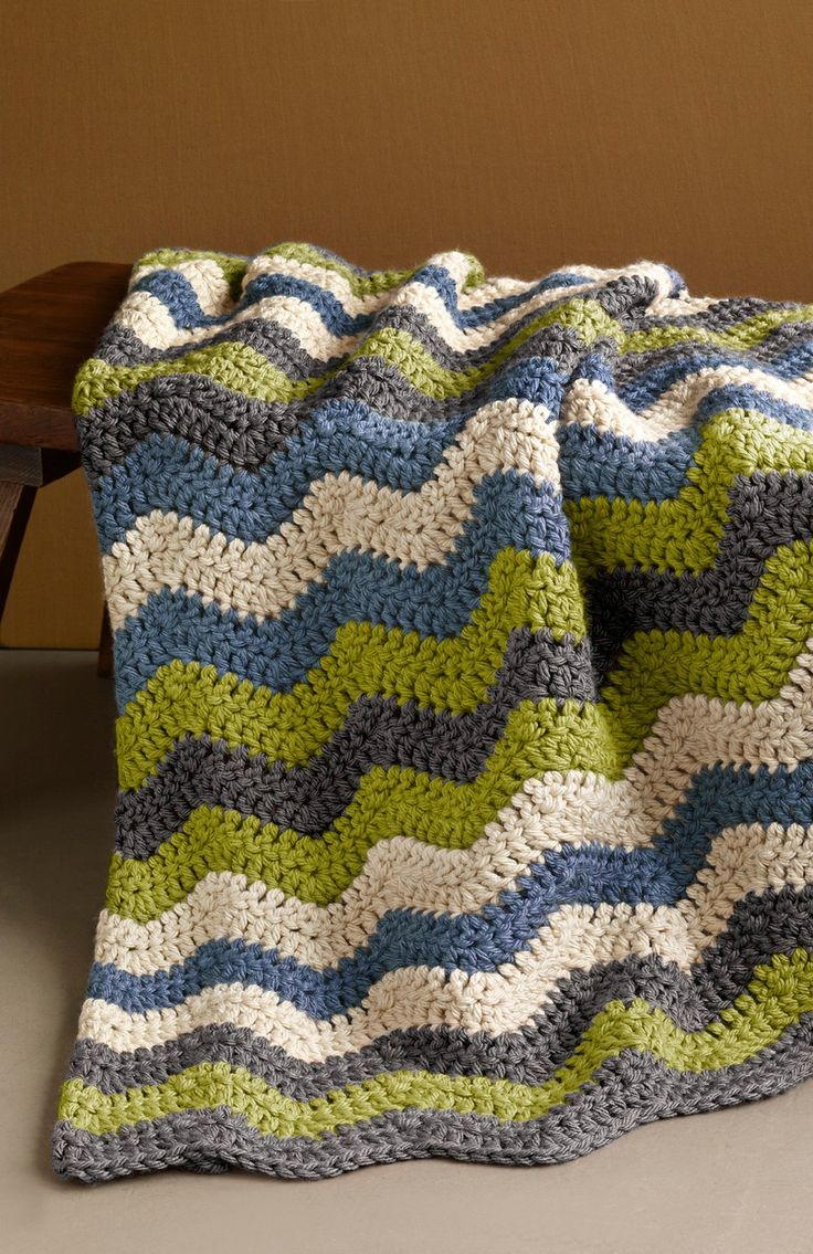 Ripple Afghan Crochet Pattern Interesting Ideas