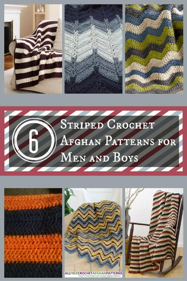 6 striped crochet afghan patterns for men and boys 6 striped crochet afghan patterns for men and boys allfreecrochetafghanpatterns bankloansurffo Image collections