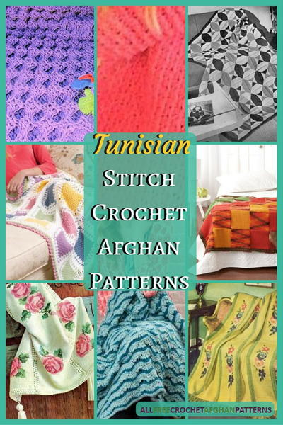 40 Tunisian Stitch Crochet Afghan Patterns Amazing Afghan Patterns