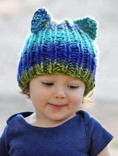 Toddler Bear Hat Pattern Allfreeknitting