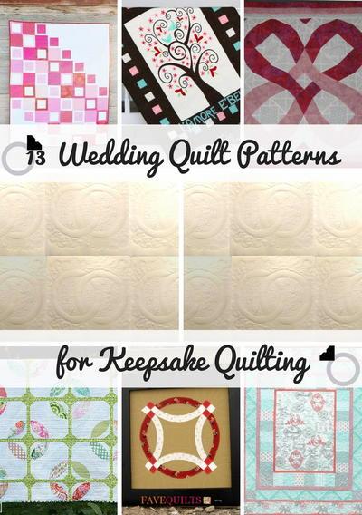 13 Wedding Quilt Patterns for Keepsake Quilting | FaveQuilts.com : keep sake quilting - Adamdwight.com