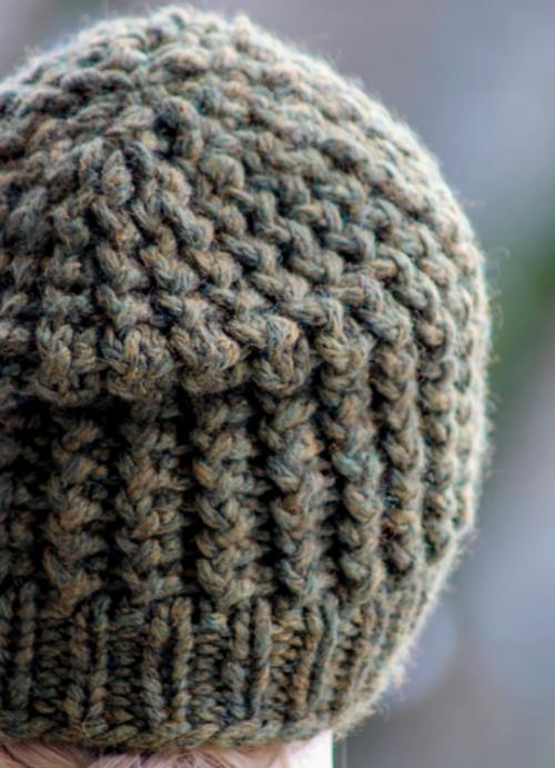 Super Bulky Knit Mens Beanie Allfreeknitting
