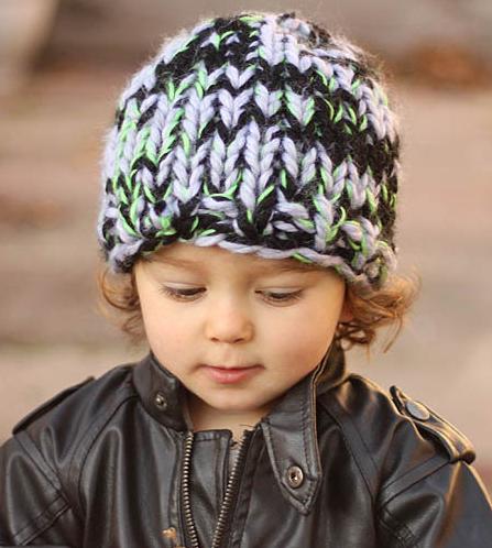 Triple Knit Toddler Hat Pattern Allfreeknitting