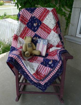 Simple Summer Throw Quilt