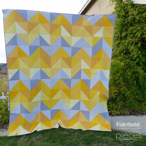 January Skies HST Quilt Pattern