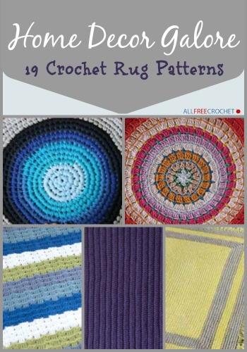 26 Crochet Rug Patterns Allfreecrochet