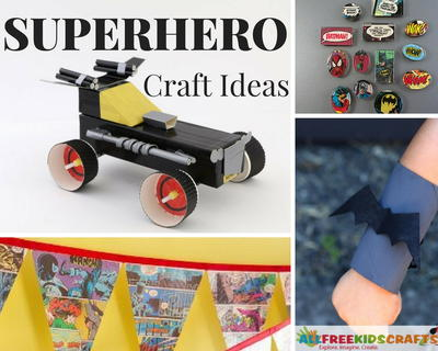 Superhero Craft Ideas
