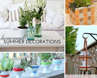 28 Homemade Decorations for Summer: DIY Outdoor Decor and DIY Home Decor