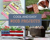 Cool Wood Projects: 35 DIY Pallet Ideas and Easy Wood Crafts