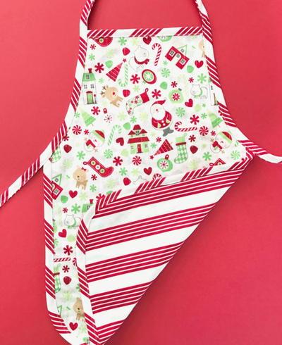 one yard childrens christmas apron - Christmas Apron