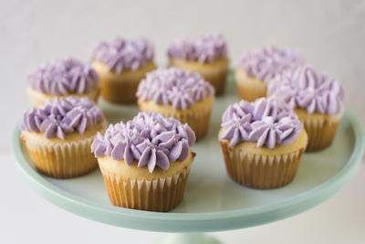 Lavender Buttercream Recipe with Essential Oil