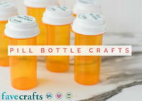 Pill Bottle Crafts: Reuse Pill Bottles [11 Ideas]
