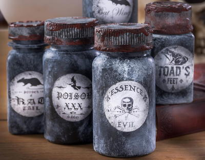 Halloween Potion Bottles