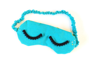 Breakfast at Tiffany's DIY Eye Mask