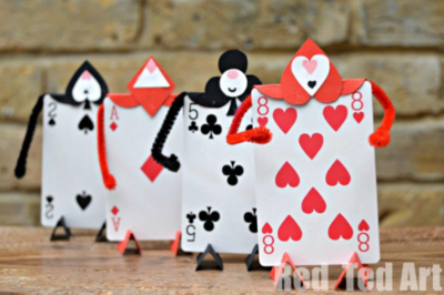 Whimsical Wonderland Card Soldiers