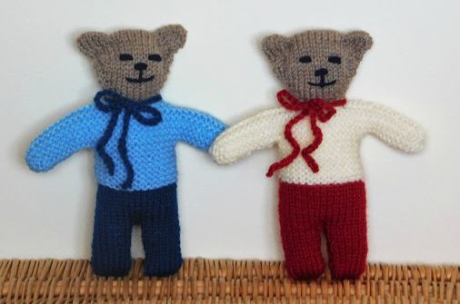 Wilfred Knit Teddy Bear Allfreeknitting