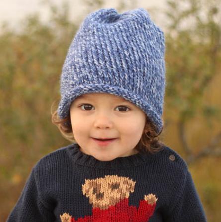 Toddler Knit Hat Beginner Pattern Allfreeknitting