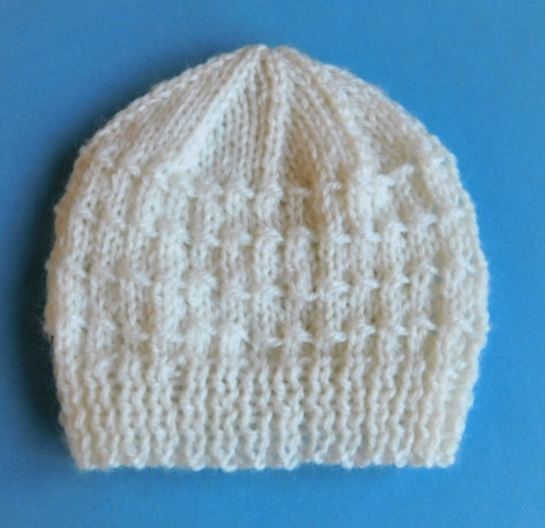 Building Blocks Knit Baby Hat Pattern Allfreeknitting